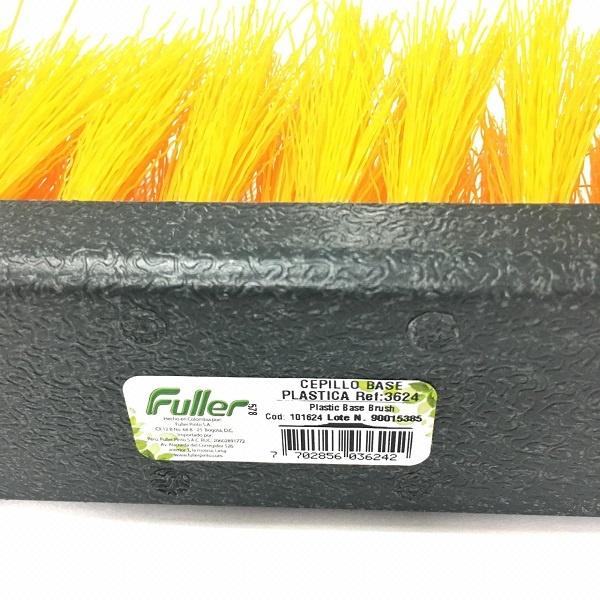 Cepillo base plastica referencia 3624 con mango barranquilla