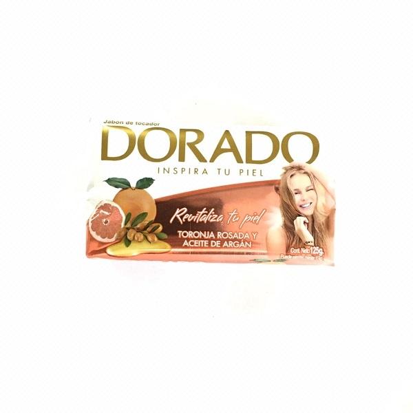 Jabones dorado aroma toronja por 125 gramos