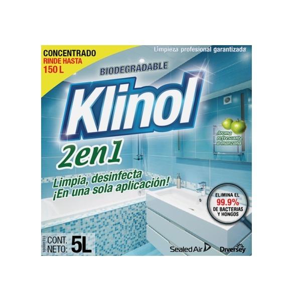 limpiador desinfectante klinol diversey