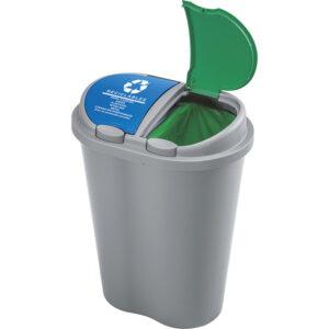Caneca plástica doble con capacidad 50 litros Rimax Barranquilla