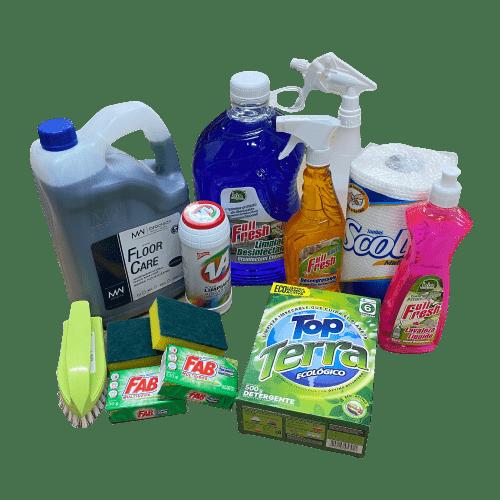 productos de aseo para el hogar
