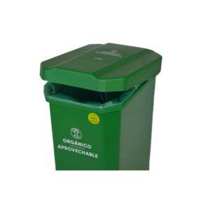 papelera-verde-de-pedal-residuos-organicos-22-litros-estra